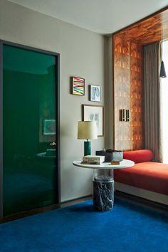 Casa Fayette interiors by Dimorestudio. Habita Hotels, Guadalajara ...