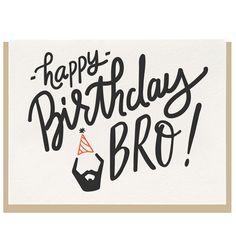 Birthday Bro — Dahlia Press
