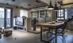 新店 35 坪混搭工業風複層公寓 - DECOmyplace
