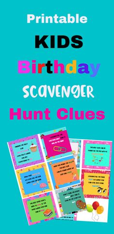 It's time to party! And what better way to add some fun to a children's birthday party, than to have an old fashioned scavenger hunt. These cute printable treasure hunt clues will super fun! Scavenger Hunt Birthday, Scavenger Hunt Clues, Treasure Hunt Clues, Rainy Day Fun, Got Party, Thing 1, Fun Activities For Kids, Rich Girl, Girl Blog