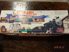 Train/Accessories Lionel Rock Island Line Electric Train Set #electrictrainsets #lioneltrainsets