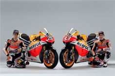 Dani Pedrosa and Marc Marquez MotoGP 2013