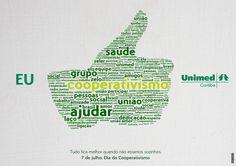 Tudo fica melhor quando não estamos sozinhos. Dia Internacional do Cooperativismo.
