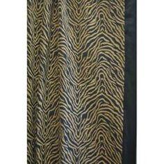 Modern Safari Shower Curtain | Overstock.com Shopping - Great Deals on Sherry Kline Shower Curtains
