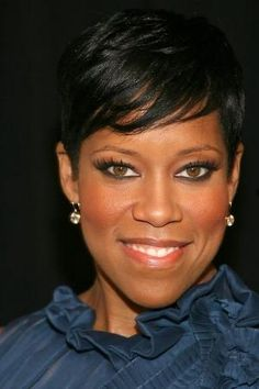 african american short hairstyles 2013 | ... Short Hairstyle Idea for African American Women - Regina King – 2013 by elvira