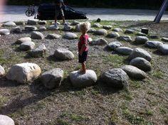 Spiral Labyrinth Stepping Stones