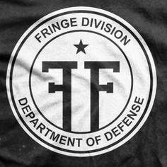 Fringe TV Series Fringe Division Logo T-shirt