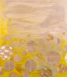 i love how nancy lorenz incorporates mother-of-pearl in her abstract art and is inspired by her time living in japan. www.nancy-lorenz.com