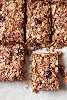 Nutritious snack bars which are perfect for lunchboxes or snack time
