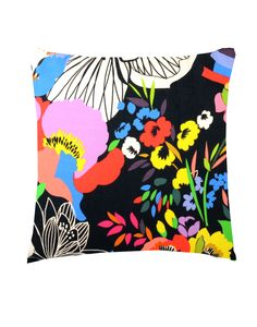 Kitty McCall - Vintage Floral Cushion -