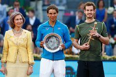 Andy Murray vence a Rafael Nadal 6-3, 6-2. En la final de Madrid.