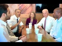 The President and Vice President Get Lunch -- and Talk About Transportat...