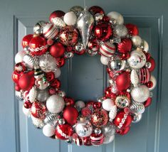 Dishfunctional Designs: How to make Vintage Christmas Ornament Wreaths.   These are so pretty and would make awesome keepsake gifts. Lots of great styles and pictures are included with the instructions.