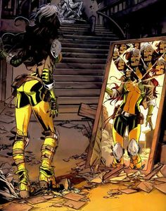"""muchadoaboutallthethings: """"X-Men Legacy """" Rogue art by Marco Checchetto, & Jean-Francois Beaulieu """" """" Ms Marvel, Marvel Comics, Marvel Girls, Comics Girls, Marvel Heroes, Comic Book Characters, Marvel Characters, Comic Character, Comic Books Art"""