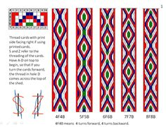 Ravelry: yarnstarved& First Card Weaving, Inkle Weaving, Inkle Loom, Card Weaving, Card Patterns, Loom Patterns, Free Printable Calendar Templates, Tablet Weaving Patterns, Bamboo Crafts, Loom Knitting