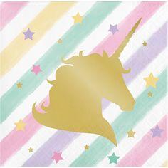 Unicorn Sparkle Beverage Napkin Foil Stamp: Amazon.de: Spielzeug