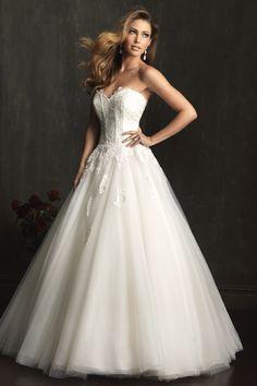 Ferrari Formalwear & Bridal - Allure Bridals 9052