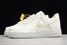 "921b65e1f3d5e5 Nike Wmns Air Force 1  07 SE PRM ""Jelly Puff"" Pale Ivory"