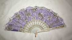 Chinese Lace Hand-Held Folding Fans