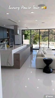 Dream House Interior, Luxury Homes Dream Houses, Luxury Homes Interior, Modern Home Interior, Luxury Modern Homes, Dream Homes, Modern Exterior House Designs, Modern House Design, Contemporary Home Design