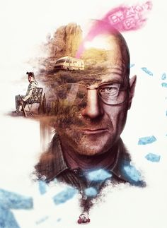 breaking bad tribute poster on Behance