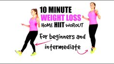 HIIT HOME WORKOUT - BURN CALORIES FAST AT HOME - IDEAL WORKOUT FOR WOMEN