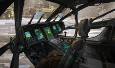 Schiff - Cockpit