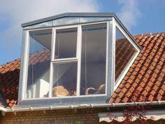 Panoramakviste Attic Renovation, Big Windows, Building A House, House Plans, Sweet Home, New Homes, Loft, Construction, Bungalows