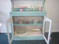 Shabby Chic Buffet Unit with Chicken wire doors!!