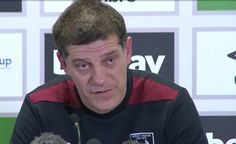 SLAVEN LOOKS TO AVENGE FA CUP DEFEAT AGAINST MANCHESTER CITY