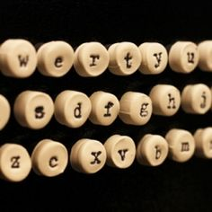Make these cute alphabet magnets for your fridge to spell out messages! Find additional DIY tutorials and recipes...