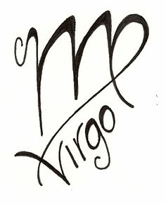Virgo tattoo original design www.silverwingsart.com