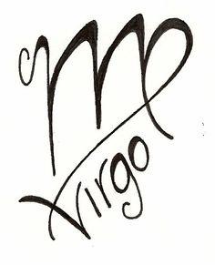 Virgo tattoo original design www.silverwingsart.com