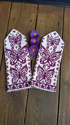 Ravelry: Papilio mittens pattern by JennyPenny