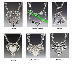Spoon Jewelry - Spoon Heart Necklace