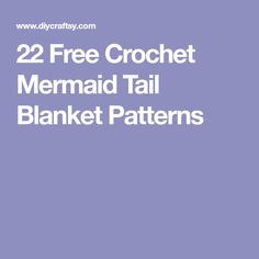 these 22 free mermaid tail crochet blanket patterns will be a total help! Each listed idea is unique and comes also with a complete step-by-step guide Crochet Mermaid Tail Pattern, Mermaid Tail Blanket Pattern, Crochet Braid Pattern, Crochet Mandala Pattern, Crochet Dolls Free Patterns, Crochet Ripple Blanket, Crochet Shawl Free, Free Mermaid Tails, Crochet Baby Boots