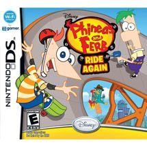 Walmart: Phineas and Ferb  Ride Again (DS)
