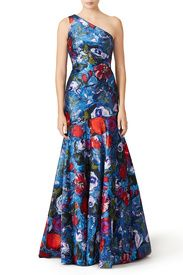 Parisian Poppy Gown by