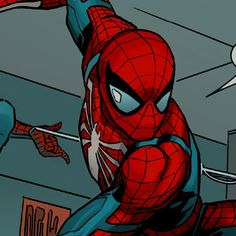 Deadpool And Spiderman, Spiderman Art, Spectacular Spider Man, Amazing Spider, Comic Movies, Comic Books Art, Iconic Characters, Marvel Characters, Dc Icons