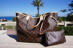 Louis Vuitton Neverfull GM Monogram & Pochette Monogram