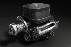2014 mercedes F1 turbo engine