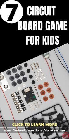 If you are looking for circuit games for kids, then look no further! In this post, we present to you 7 really fabulous circuit games for kids that will help them to improve their STEM and analytical skills, and reasoning abilities and, in turn, schooling and grades. These circuit games and STEM activities can be used to help prepare for schoolwork, examinations, and as general study enhancements. #circuitgames #STEM #logicgames #brainteaser #studyskills #studytips #coolgifts #coolgames Educational Toys For Kids, Educational Activities, Educational Technology, Logic Games For Kids, Board Games For Kids, Hands On Activities, Science Activities, Science Ideas, Circuit Games
