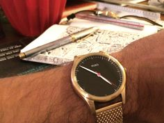 Gold/Black/Mesh from Miró Watches http://www.mirowatches.se/product/goldblackmesh/
