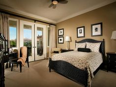 I like the color of the walls with the white trim.  Traditional Guest Bedroom : Designers' Portfolio : HGTV - Home & Garden Television