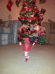 How about some elf bungee jumping?