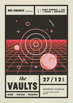 The Vaults // Res.onance // 27.12.14 https://www.facebook.com/events/1378754479084878/?ref=ts&fref=ts
