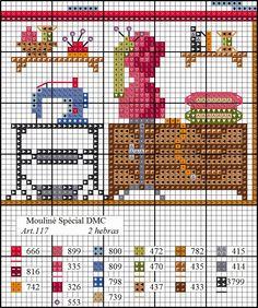 El segundo jueves de cada mes os daremos el diagrama de una habitación. 12 meses, 12 diagramas, 12 habitaciones.