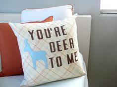 Love me some pillows like this! Need to make a bundle.