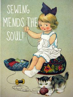 ♡ Sewing Mends The Soull! ♡ NYC Discount Diva
