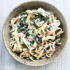 Food by . Real Food Recipes, Healthy Recipes, Pasta Recipes, Healthy Foods, Spaghetti, Laksa, Recipes From Heaven, Bruschetta, Italian Recipes